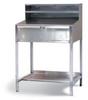 Stainless Steel Standing Shop Desk -- 34-SD-AF-TD-280-SS - Image