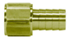 Brass Barbed Female Swivel Fittings -- BI0202FN - Image