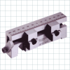 Standard Jaws for High Precision Power Vises -- SlimFlex Step Jaws