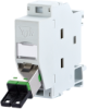 DIN Rail Fiber Optic Wall Outlets -- 130f5c7003-e
