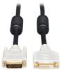 DVI Dual Link Extension Cable, Digital TMDS Monitor Cable (DVI-D M/F) 10-ft. -- P562-010