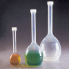 Nalgene Polypropylene or Polymethylpentene Volumetric Flasks -- 77154
