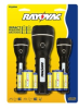Rayovac Value Bright 2AA and 2D Flashlight 3 Pack -- GPR2AA2AA2D-BC - Image