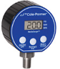 Cole-Parmer Digital Pressure Gauge, 0-300 psi, 3