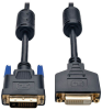 DVI Dual Link Extension Cable, Digital TMDS Monitor Cable (DVI-D M/F), 10-ft. -- P562-010 - Image
