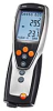 testo 635-2, humidity/temperature measuring instrument with readings memory, PC software and USB data transmission cable, with battery and calibration protocol -- 0563 6352