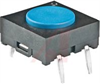 Tactile Switch; 50 mA; 24 VDC (Max.); SPST; Beryllium Copper (Movable) -- 70192906