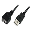 StarTech.com USB 2.0 Extension Cable A to A - USB extension -- USBEXTAA10BK