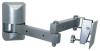 Multi-Configurable Small Flat Panel Articulating Wall Mount -- LCD-1