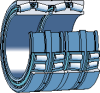 Tapered Roller Bearings, Four-row - 331156 -- 134407113