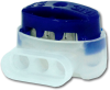3M Scotchlok 314 IDC Pigtail Connector, 22-14 AWG, Blue, Sealant Included -- 37041 - Image