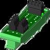 2 channel backpanel (DIN) -- SCM7BP02-DIN -Image