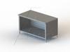TGO Series, Casework Galvanized Steel Cabinet Flat Top -- 4TGO-24120 - Image
