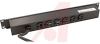Strip, Power; 6; 6 in.; Plug-In; 1; 20 A; Rack Mount -- 70091710