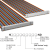 Rectangular Cable Assemblies -- H3AAH-6406M-ND -Image