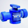 Series ABR Air Actuated Ball Valve -- ABMS125EP-PP - Image
