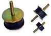 Cylindrical Stud Mount Vibration Isolator -- Stud-Mounts
