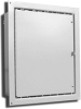 Powder Coated Steel NEMA 12 Wallmount One Door Single Access -- E-201606FW