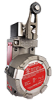 MICRO SWITCH™ Hazardous Location BX2 Series: Non plug-in housing, side rotary (fixed lever with 0.75 in x 0.25 in nylon roller), 1NC 1NO SPDT snap action, 20 mm conduit, and 316L stainless steel -- BX24A3K-1A