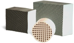 Alumina & Cordierite Honeycomb Supports Datasheet -- CoorsTek