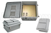 14x12x7 Inch 12 VDC Vented Weatherproof Enclosure -- NB141207-50V - Image