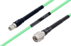 Temperature Conditioned SMA Male to TNC Male Low Loss Cable 100 cm Length Using PE-P142LL Coax -- PE3M0129-100CM -Image