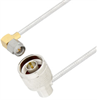 N Male Right Angle to SMA Male Right Angle Cable Assembly using LC085TB Coax, 5 FT -- LCCA30544-FT5 -Image