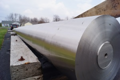 Economical, low alloy, corrosion resistant, abrasion resistant stainless steel.