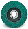 3M 577F Type 27 Coated Alumina Zirconia Flap Disc - 36 Grit - 4 1/2 in Diameter - 7/8 in Center Hole - Giant - 30971 -- 051141-30971 - Image
