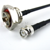 BNC Male to 7/16 DIN Male Cable LMR-240 Coax in 12 Inch -- FMC0815240-12 - Image