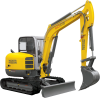 Tracked and Wheeled Excavators