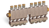 "Multiple Sight Feed Valve, 8 Valves, 1/8"" Female NPT Inlet, (8) 1/8"" Female NPT Outlets -- YB4689-08 (Formerly B3150-8-S01) -Image"