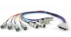 Modular DB25 Breakout Cable Ends -- DB25FXLRF