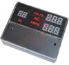 PANEL METER, AC VOLT,AMP,FREQ IN 1 LED DIG12/24VDC AUX -- 70043535