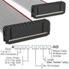 Rectangular Cable Assemblies -- A3AAH-2436G-ND -Image