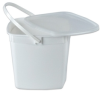 Square Pail With Lid -- 81114