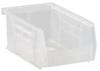 7 3/8 x 4 1/8 x 3 od stacking bins-clr -- 53914