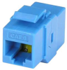 Cat6 Inline Coupler w/ Keystone Latch, Blue -- 102010BL