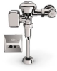 ZEMS6003AV-MOB-W1 -- Connected Hardwired Sensor Flush Valve For Urinals -Image