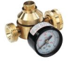 Lead Free* Mini Brass Water Pressure Regulators with Hose Connections -- LFH560