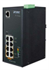 Industrial 4-Port 10/100/1000T 802.3at PoE plus 4-Ports 10/100/1000T Managed Switch