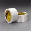 Scotch(R) Bi-Directional Filament Tape 8959 Transparent, 25 mm x 50 m, 36 per case Bulk -- 021200-88227