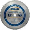 Oshlun SBF-140120 14-Inch 120 Tooth TCG Saw Blade with 1-.. -- SBF-140120
