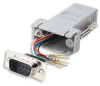 DB9 Male to RJ12 Modular Adapter -- 31D1-A1