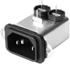 HF Performance IEC Inlet Filter -- FN 9226B-3-.. -- View Larger Image