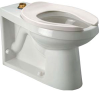 Z5646-BWL EcoVantage® HET ADA Floor-mounted Toilet with Integral Bedpan Lugs -- Z5646-BWL -Image