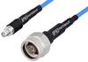 SMA Female to N Male Precision Cable 60 Inch Length Using PE-P141 Coax, RoHS -- PE356-60 -Image