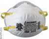 3M™ Particulate Respirator 8210, N95 -- 50-051138-46457-3 - Image
