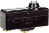 MICRO SWITCH BZ Series Premium Large Basic Switch, Single Pole Double Throw Circuitry, 1 A at 125 Vac, Low Overtravel Plunger Acutator, Screw Termination, Gold Contacts, UL, CSA, ENEC -- BZ-2RD72-A2 -Image
