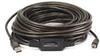 USB 2.0 Active Cable, 49ft.L, Black -- 13U533